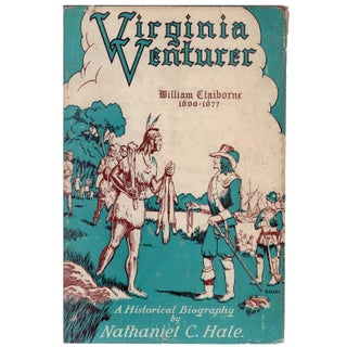 Virginia Venturer Book by Nathaniel C. Hale