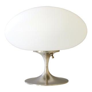 Vintage Bill Curry for Laurel Mid Century Modern Chrome Mushroom Lamp
