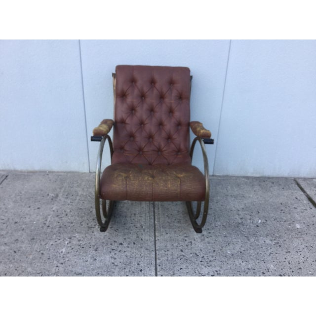 1960's Lee Woodard and Sons Rocking Chair - Image 3 of 11