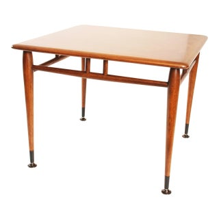 Lane Acclaim Mid-Century Modern Square Accent Table