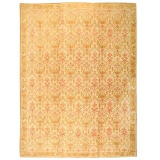 Antique Oversize Spanish Cuenca Carpet