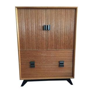 Frankl Combed Wood Dresser