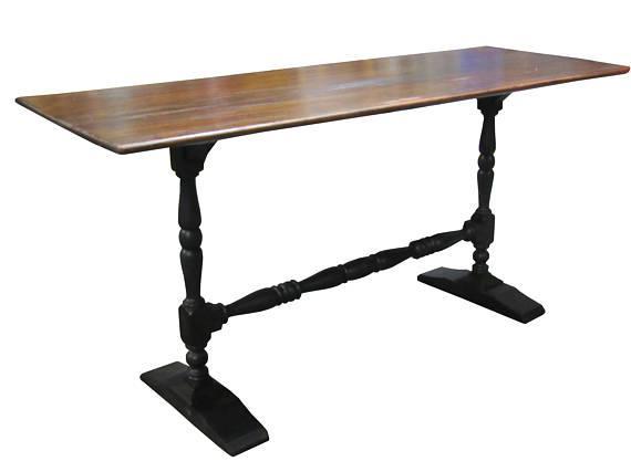 Rustic Farmhouse Sofa Table Desk
