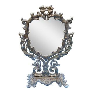 Antique Swivel Vanity Mirror
