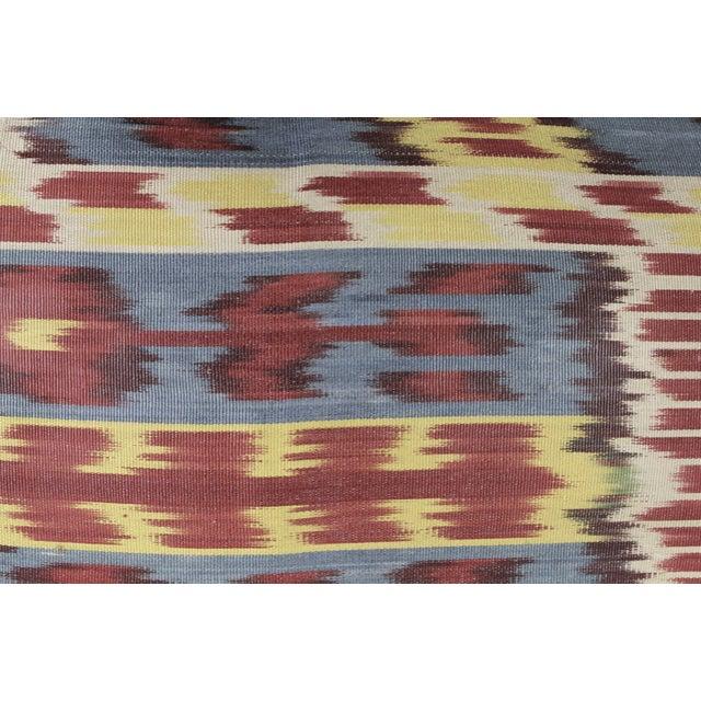 Silk Ikat Pillow - Image 2 of 2