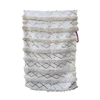 Vintage White Moroccan Wedding Blanket