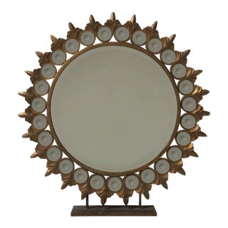 Starburst Fleur-De-Lis Motif Mirror