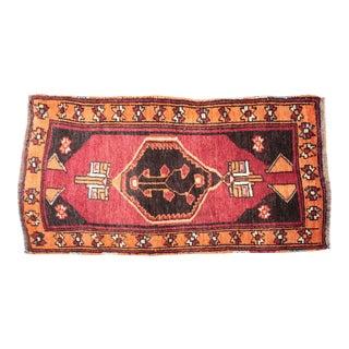Vintage Traditional Turkish Carpet - 1′8″ × 2′10″