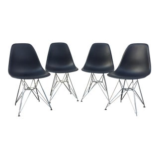Vitra Eiffel Shell Chair Reproductions - Set of 4