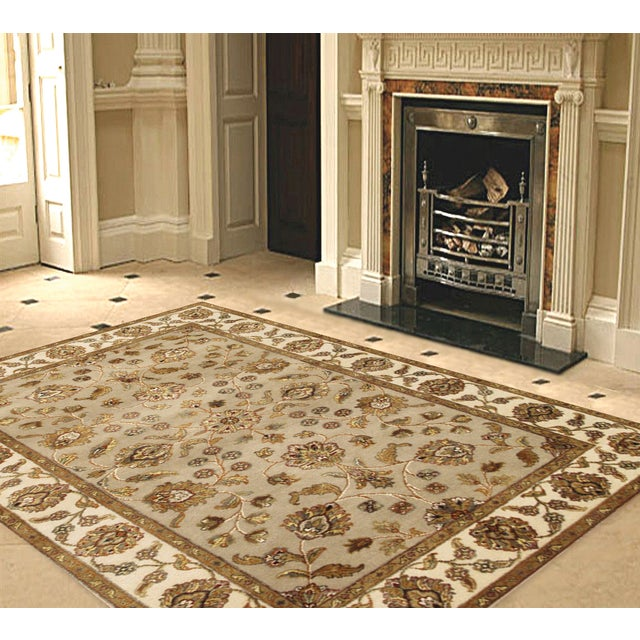 """Image of Pasargad Agra Collection Rug - 4' X 6'2"""""""