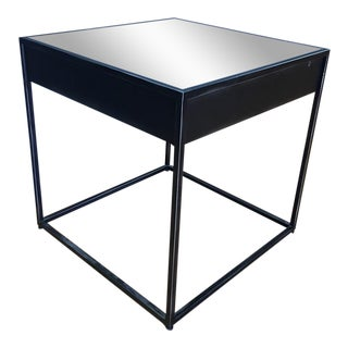 Restoration Hardware Gramercy Black Side Table