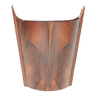 Einar Barnes for P. S. Heggen Rosewood Wastepaper Basket
