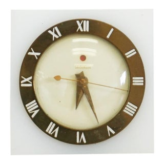 40s Art Deco Telechron Electric Clock