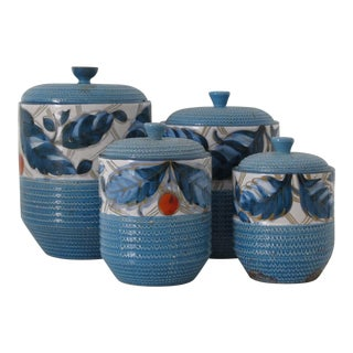 Bitossi Italian Kitchen Canisters - Set of 4