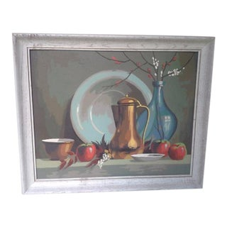 1960s Paint by Number Still Life