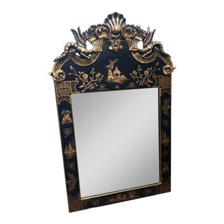 Regency Chinese Chinoiserie Dragon Style Mirror