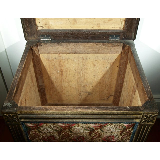 A Louis XVI Style Trunk or Lift-top Table - Image 7 of 7