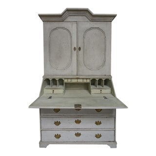 Early Two-Part Secretary with Original Hardware (#62-47)