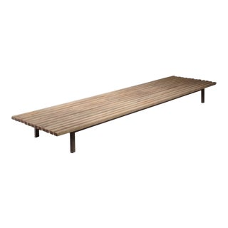 Extra Large Charlotte Perriand Slat Bench or Table