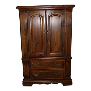 Modern Solid Hardwood Armoire