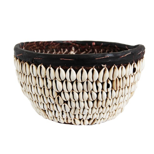 Cowry Shell Basket - Image 1 of 2