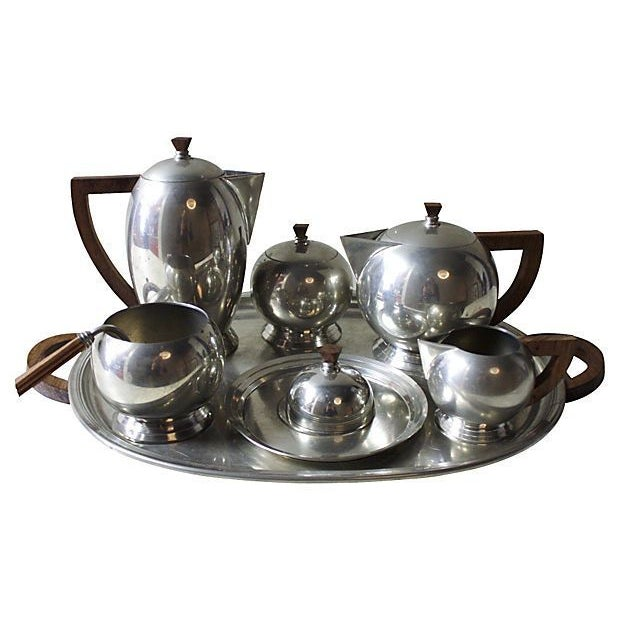 French Pewter Tea Or Coffee Server Chairish