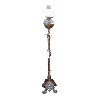 """""""P.E. GUERIN"""" Lion Piano Lamp"""