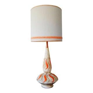 "Mid-Century BelArts ""Genie Bottle"" Lamp W/ Custom Shade"