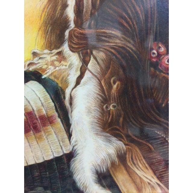 "Image of Original Prismacolor Drawing ""Bear Ghost"""