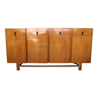 American of Martinsville Cerused Oak Credenza