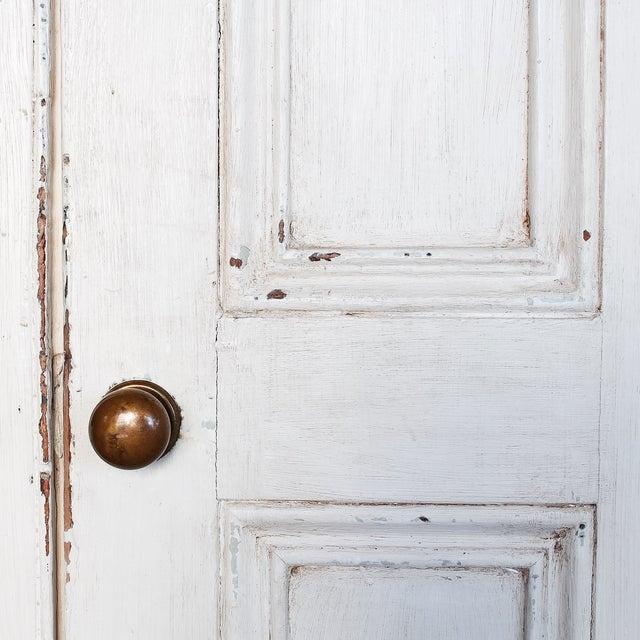 Antique White Distressed Schoolhouse Lockers - Image 4 of 11