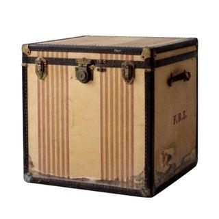 Vintage OshKosh Trunk Company Chief Steamer Trunk