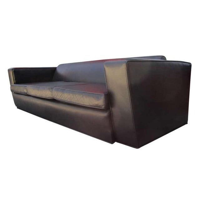 Image of Aerodynamic Sofa in the Style of Paul Frankl