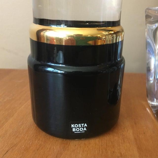 Kosta Boda Black Lipstick & Nail Polish Art Pieces - Image 3 of 11
