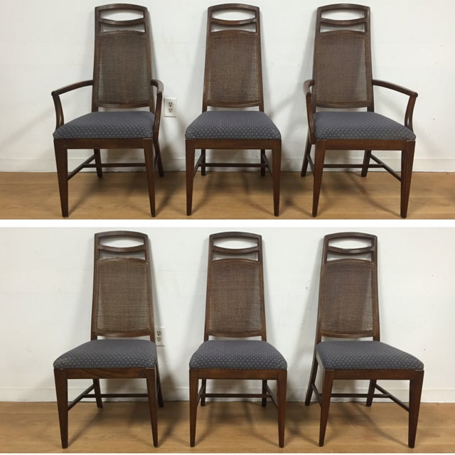Mid Century Dining Chairs - Set of 6 - Image 2 of 11