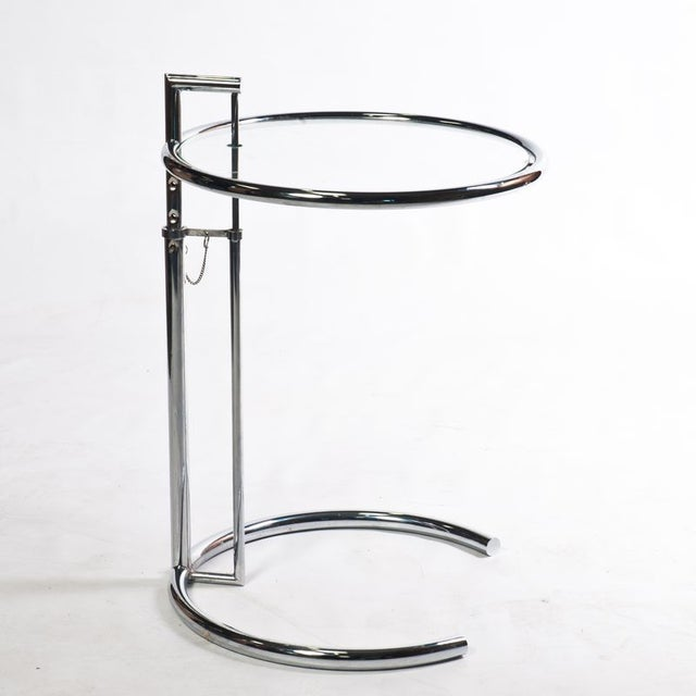 Eileen Gray Style Cocktail Table Chairish