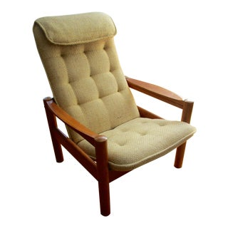 Domino Danish Mid-Century Modern Lounge Chair