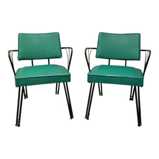 Mid-Century Modern Viko Arm Chairs - A Pair
