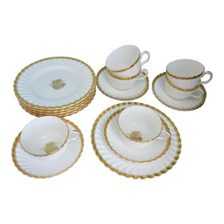 Mintons of England Coffee Service - Set of 18