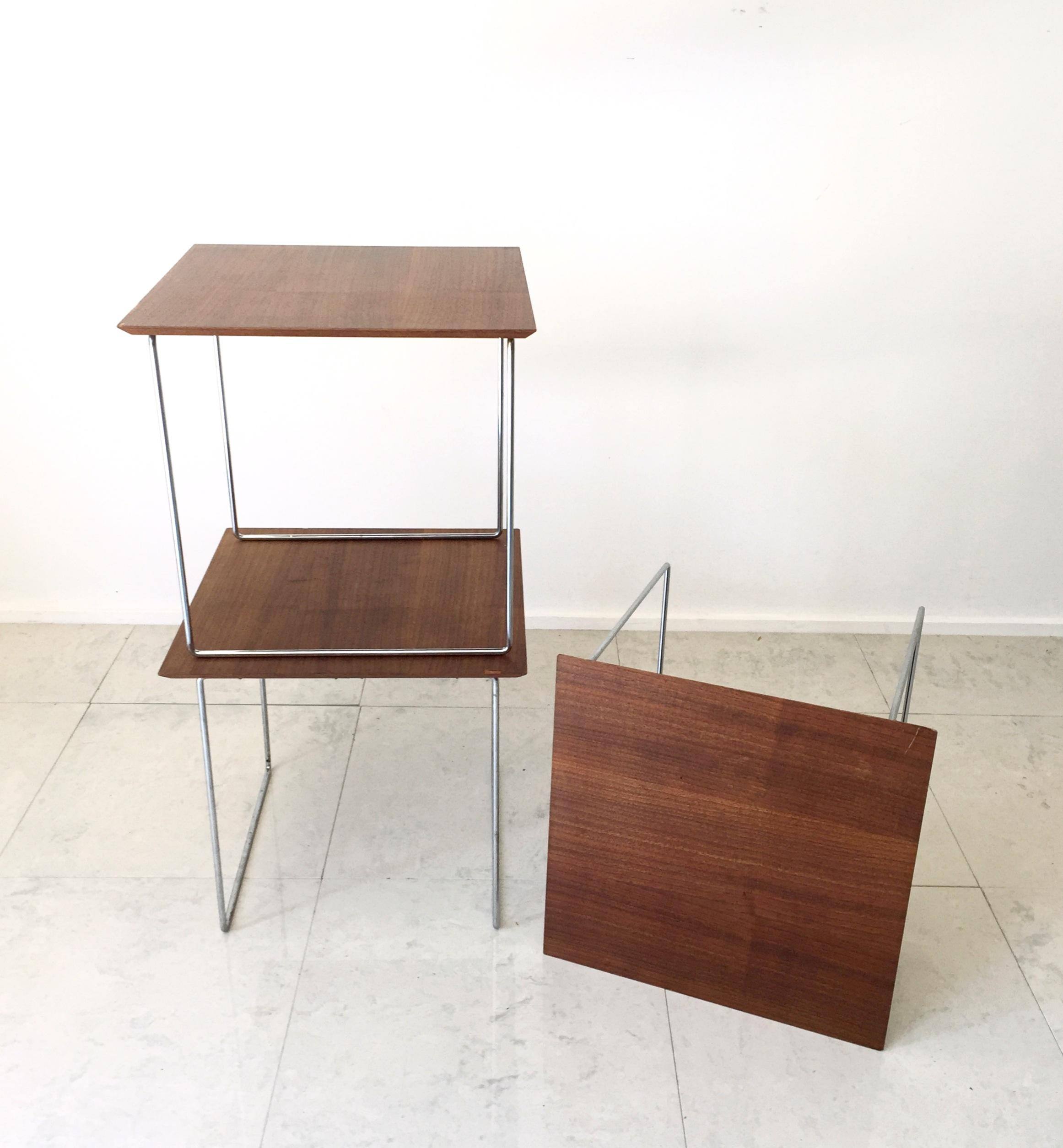 Poul Norreklit Danish Nesting Tables   Set Of 3   Image 2 Of 5