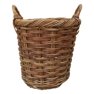 Boho Chic Handled Basket