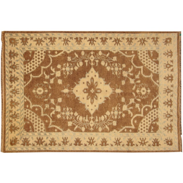 "Image of Apadana Kerman Rug - 6'0"" X 9'0"""