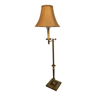 Vintage Bent Arm Floor Lamp