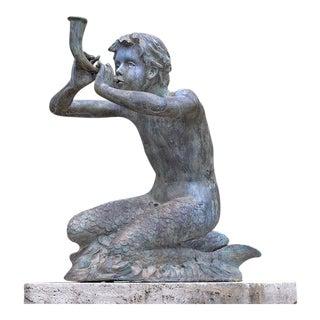Merboy Fountain Figure