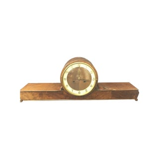 1940's German Art Deco Mantel Clock