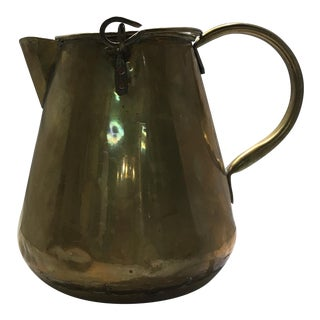 Antique Traditional Brass Pitcher