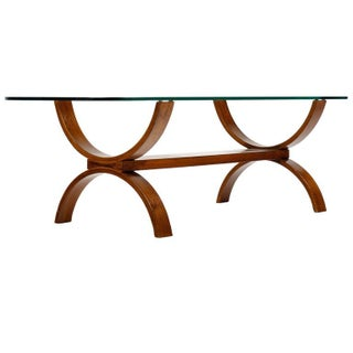 Mid-Century Modern Bentwood Coffee Table
