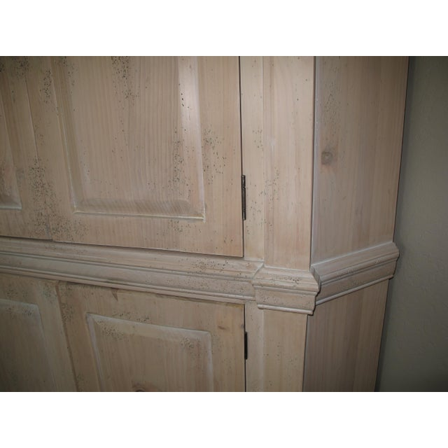 Habersham corner cabinet armoire chairish for Habersham cabinets cost