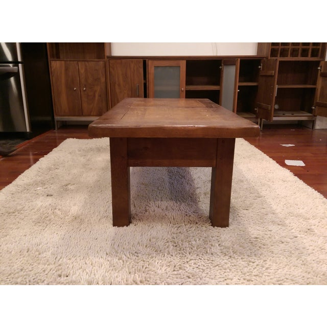 ABC Carpet & Home Solid Wood Coffee Table - Image 5 of 7