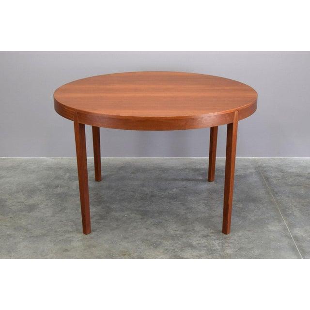 Hornslet Møbelfabrik Danish Teak Dining Table w/ 2 leaves - Image 2 of 11